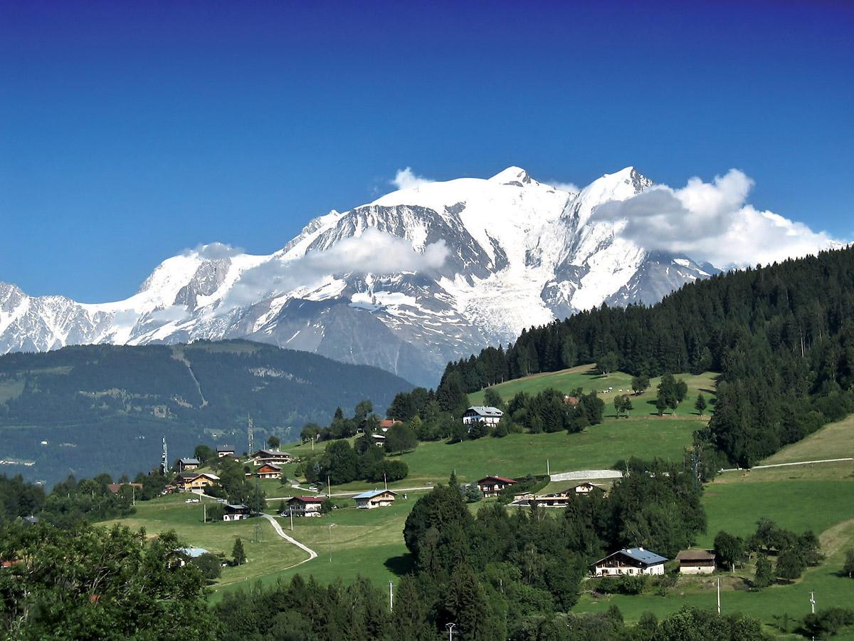 Švýcarské aFrancouzské Alpy