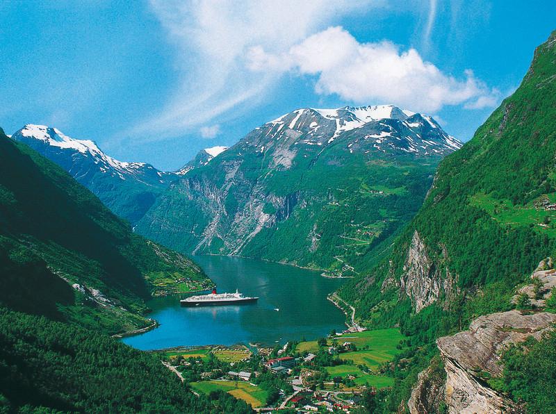 Norsko – velký okruh