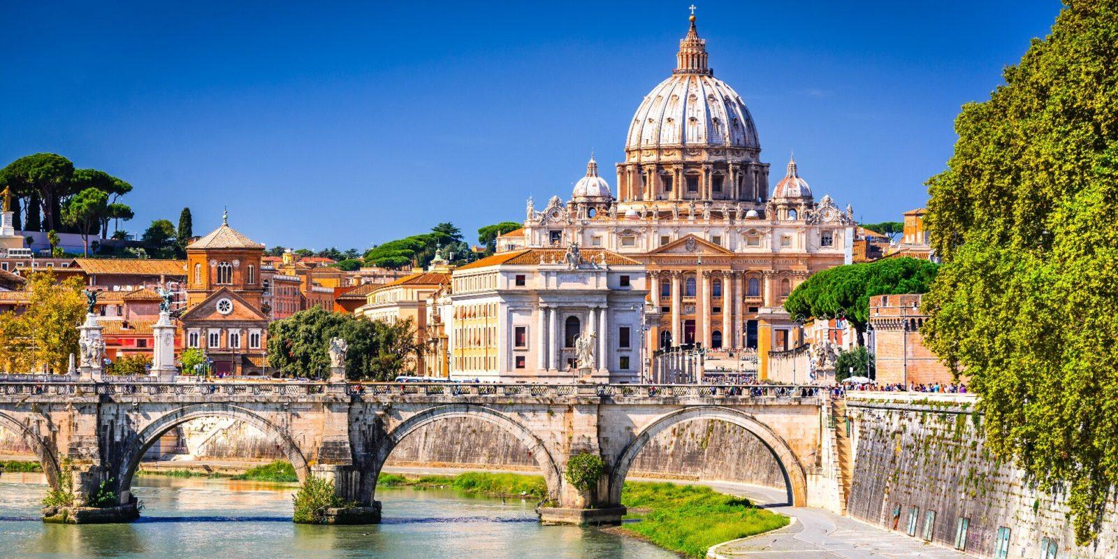 Řím od Ado Z– letecky
