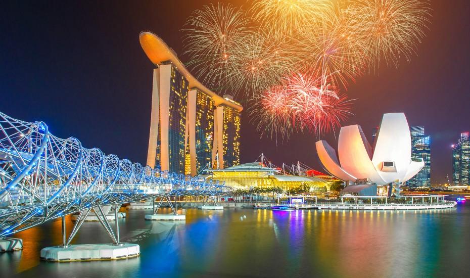 SINGAPUR – SILVESTR na který nezapomenete