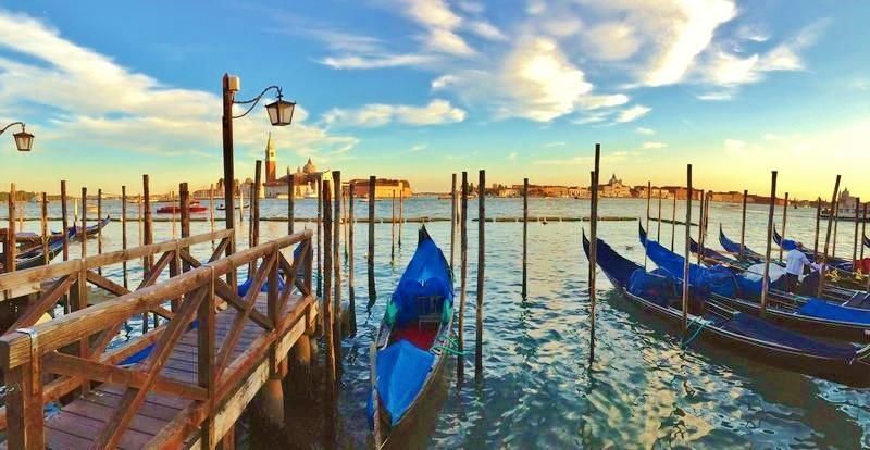 Benátky akrásy severní Itálie